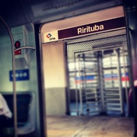 Photo taken at Estação Pirituba (CPTM) by Mônica C. on 6/17/2012