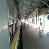 Photo taken at Maradana Railway Station by Kasun D. on 2/17/2012