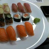 Photo taken at Wok Sushi by Pedro H. on 3/12/2012
