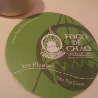 Photo taken at Fogo de Chao Brazilian Steakhouse by Garry W. on 6/17/2012