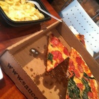 Photo taken at Sauce Pizza & Wine by Britne S. on 9/7/2012
