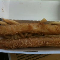 Photo taken at Wienerschnitzel by Brian T. on 4/2/2012