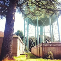 Photo taken at Alma Water Tower by Scott M. on 7/7/2012