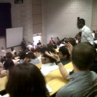 Photo taken at Lecture Theater 1 (RED) by Debi Marie R. on 5/24/2012