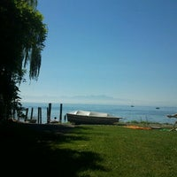 Photo taken at Seemooser Strand by Dr L. on 8/19/2012