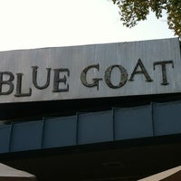 Photo taken at Blue Goat by Brandon B. on 8/18/2012