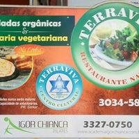 Photo taken at TerraViva Restaurante Natural by Elio G. on 2/29/2012
