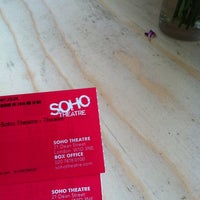 Photo taken at Soho Theatre Bar by John-Webb C. on 6/14/2012