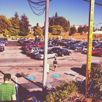 Photo taken at MacArthur BART Parking Lot by Michael F. on 9/4/2012