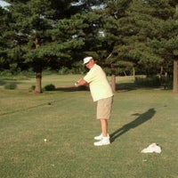 Photo taken at Arlington Greens Golf Course by Denise D. on 6/16/2012