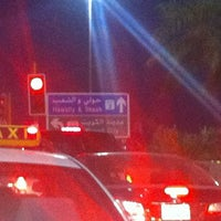 Photo taken at إشارة الروضة والقادسية by KOKO on 1/3/2012