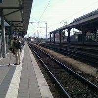 Photo taken at Bahnhof Frankfurt (Oder) by Alicia J. on 9/11/2011