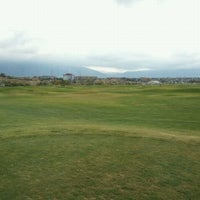 Photo taken at Mulligans Golf & Games by Dan R. on 10/8/2011