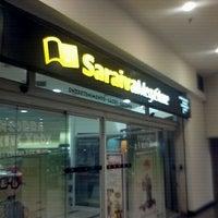 Photo taken at Saraiva MegaStore by Marcello S. on 10/10/2011