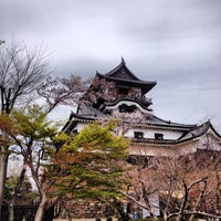 Photo taken at Inuyama Castle by Mash on 4/15/2012