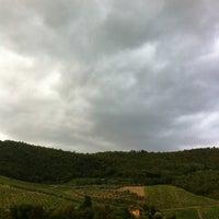 Photo taken at Fattoria Castiglionchio by Tom D. on 7/23/2012