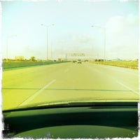 Photo taken at Veterans Memorial Tollway by Jessica S. on 10/27/2011