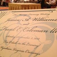 Photo taken at Wyndham Virginia Crossings by Dawn H. on 9/2/2012