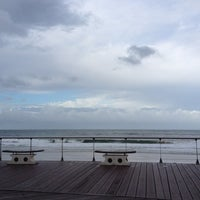 Photo taken at Mooloolaba Beach by Liz G. on 3/14/2012