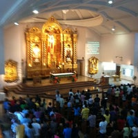 Photo taken at St. Therese of The Child Jesus Parish by Ron Nicolo Matthew G. on 7/8/2012
