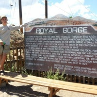 Photo taken at Royal Gorge Bridge & Park by Brian M. on 7/22/2012