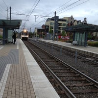 Photo taken at TriMet NW Civic Drive MAX Station by Paul A. on 5/23/2012