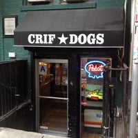 Photo taken at Crif Dogs by Francesco P. on 3/31/2012