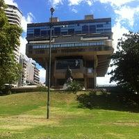 Photo taken at Biblioteca Nacional Mariano Moreno by Sebastian A. on 3/5/2012