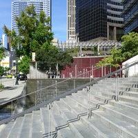 Photo taken at City Hall Plaza by Samson on 9/5/2012
