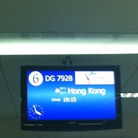 Photo taken at Phil. Immigration Counter - Clark Airport by Zai N. on 9/6/2012