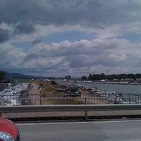 Photo taken at Ponte Giorgini by Sandro B. on 7/28/2011