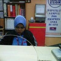 Photo taken at Pos Malaysia by Edham I. on 11/23/2011