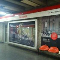 Photo taken at Metro Salvador by Karen P. on 12/31/2011