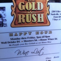 Photo taken at The Gold Rush by T-Bone C. on 9/28/2011