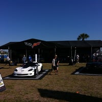 Photo taken at Corvette Racing @ 12 Hours of Sebring by Mike S. on 3/17/2011