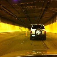 Photo taken at Airport Tunnel by Ken S. on 10/15/2011