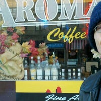 Photo taken at aroma by Hugh Y. on 11/27/2011