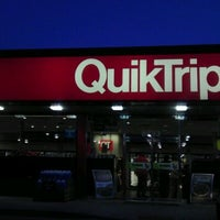 Photo taken at QuikTrip by Melissa F. on 3/13/2012