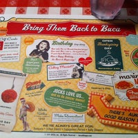 Photo taken at Buca di Beppo Italian Restaurant by Jeff M. on 12/30/2011