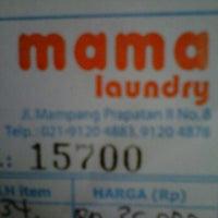 Photo taken at Mama laundry by Laili J. on 1/25/2012