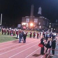 Photo taken at Haddonfield Memorial High School by Garick G. on 11/18/2011
