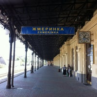 Photo taken at Залізнична станція «Жмеринка» by Alenka on 9/1/2012