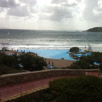 Photo taken at Colonna Hotel Capo Testa by Baris S. on 9/19/2011