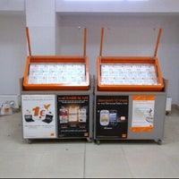 Photo taken at Orange Kiosk Politehnica by Raul U. on 11/10/2011