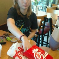 Photo taken at Chick-fil-A by Gabby H. on 11/18/2011