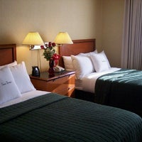 Photo taken at DoubleTree Suites by Hilton Hotel Mt. Laurel by Leandra L. on 2/12/2011
