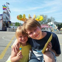 Photo taken at St. John Vianney Festival by Erin P. on 6/8/2012