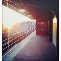 Photo taken at MTA Subway - Halsey St (J/Z) by justinstoned on 9/3/2011
