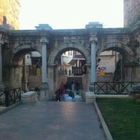Photo taken at Hadrian's Gate by Ahmet ✨. on 6/1/2012
