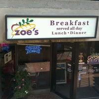 Photo taken at Zoe's Kitchen by Kevin V. on 9/12/2011